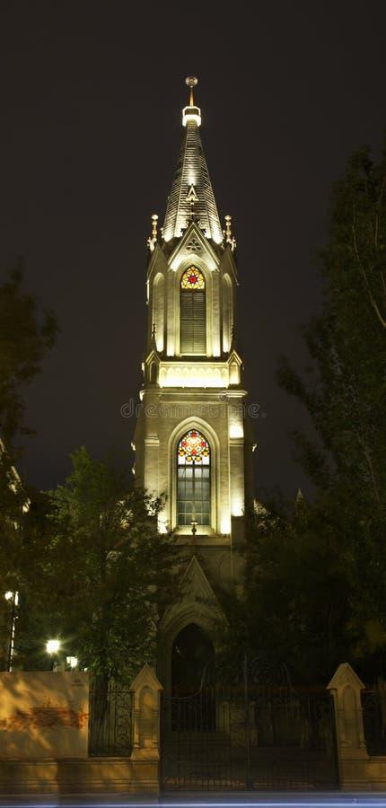 Luteranin, kościół w Baku Azerbejdżan obraz royalty free
