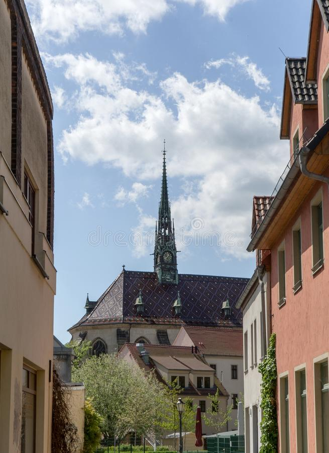 Luther city Wittenberg royalty free stock photography