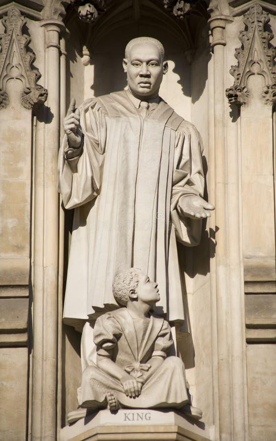 luther martin westminster короля london собора стоковое изображение rf