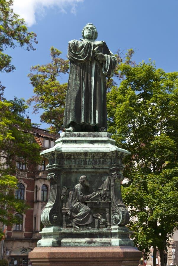 Luther Memorial en Eisenach fotos de archivo libres de regalías