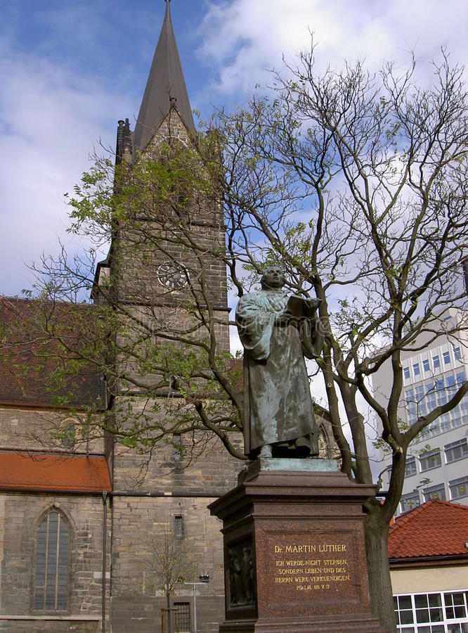 Luther Monument royalty-vrije stock fotografie
