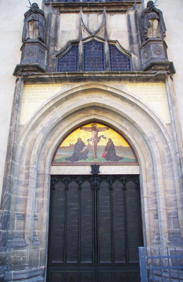 Luther Thesen Wittenberg stock fotografie