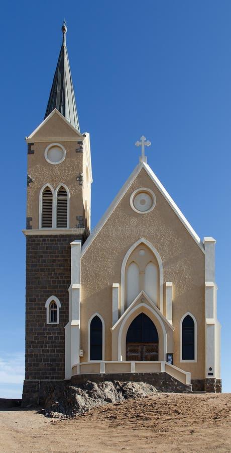 Free Lutheran Church In Luderitz Southern Namibia Royalty Free Stock Photos - 74284038