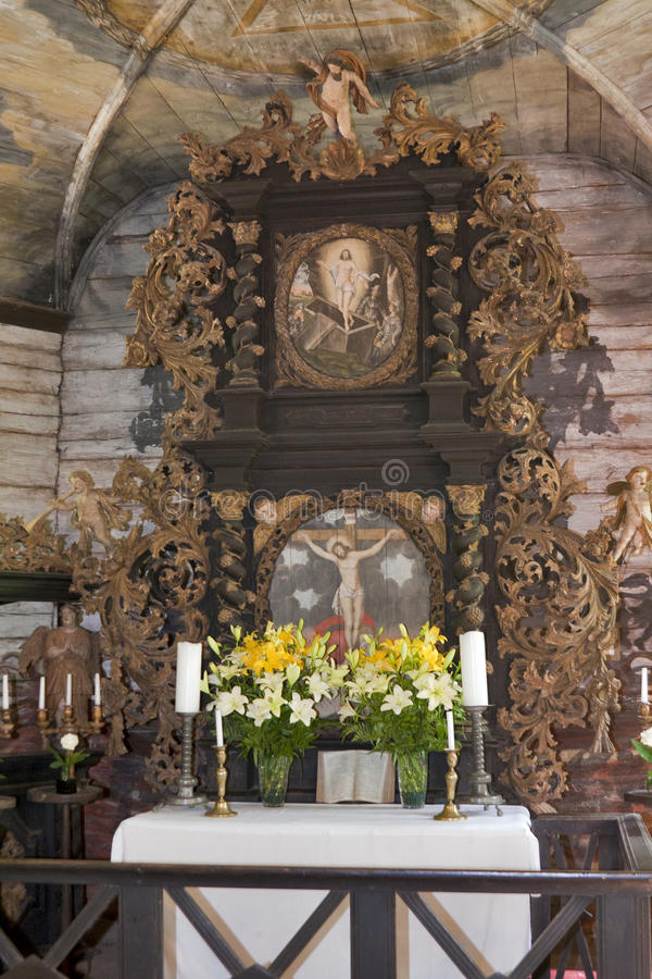 Download Lutheran Church interior stock image. Image of altar - 25173893