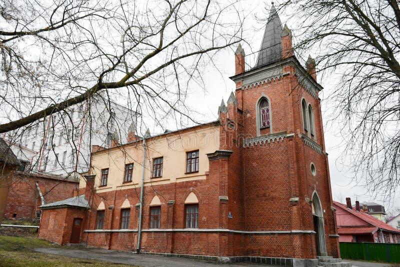 lutheran kościelny polotsk fotografia royalty free