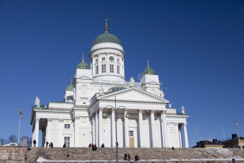 Lutherische Kathedrale in Helsinki, Finnland lizenzfreies stockfoto