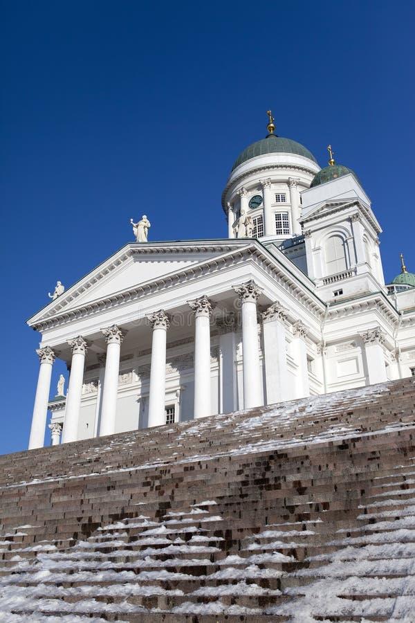 Lutherische Kathedrale in Helsinki, Finnland stockbilder