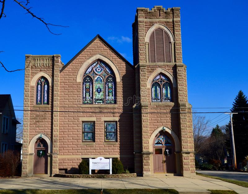 Lutherische Kirche Bethlehems lizenzfreie stockfotos