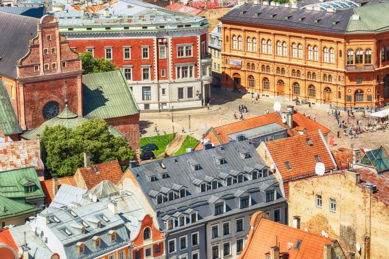 Download Lutherisches Kathedralenquadrat Rigas, Riga Stockbild - Bild von historisch, lettland: 96925343