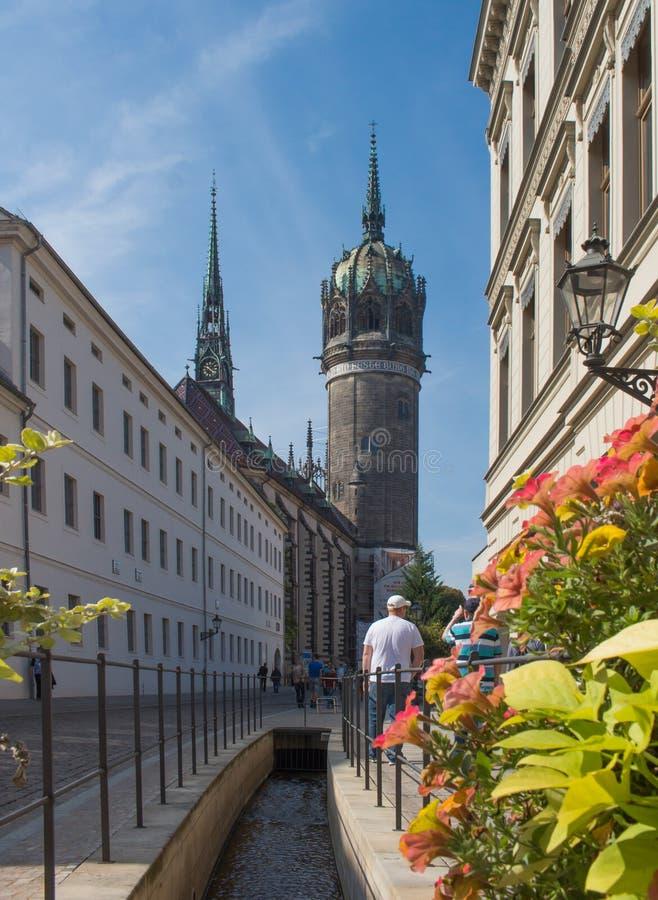 Lutherstadt Wittenberg стоковые изображения