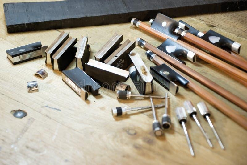 Luthier stockfotografie