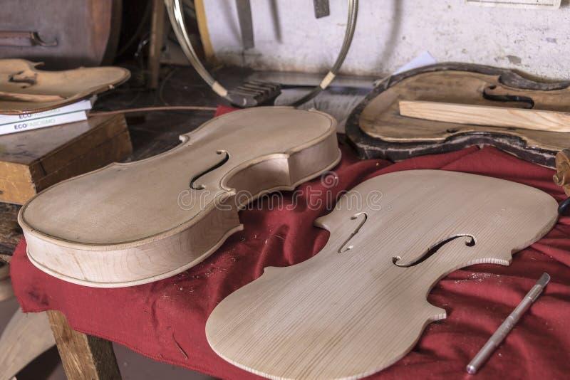 Luthier стоковое фото rf