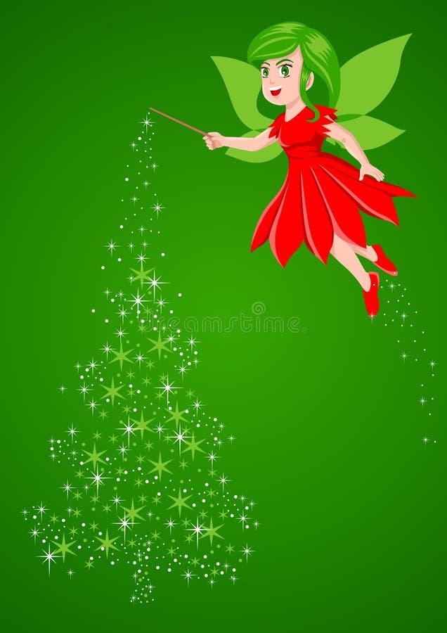 Lutin de Noël illustration stock