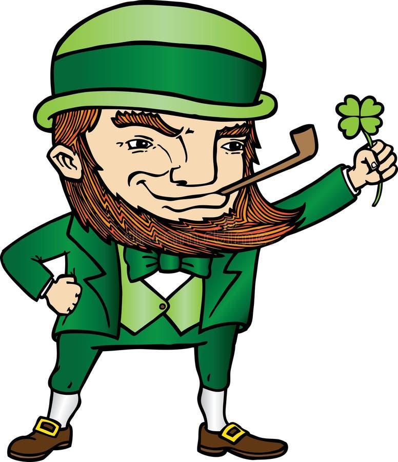 Lutin du jour de St Patrick illustration de vecteur