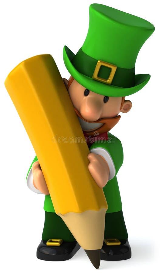 Lutin irlandais illustration libre de droits