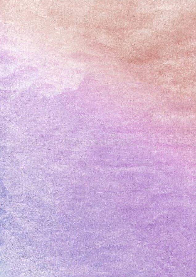 Lutningguld till lilor texturerade pappers- backbround för grunge arkivbilder