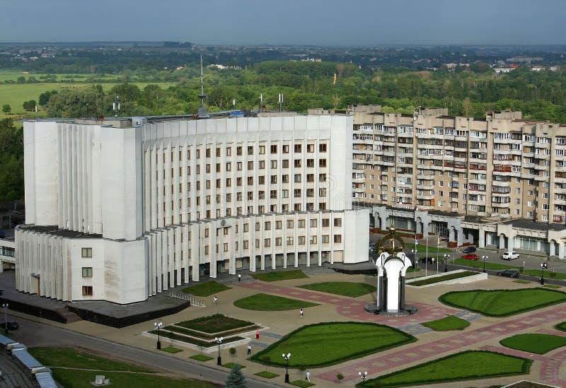 Download Lutsk, Ukraine - Aerial View Stock Photo - Image: 26421820