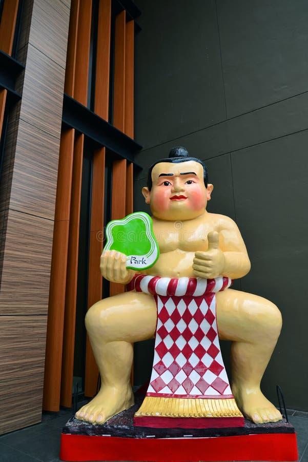 Lutteur de sumo photos libres de droits