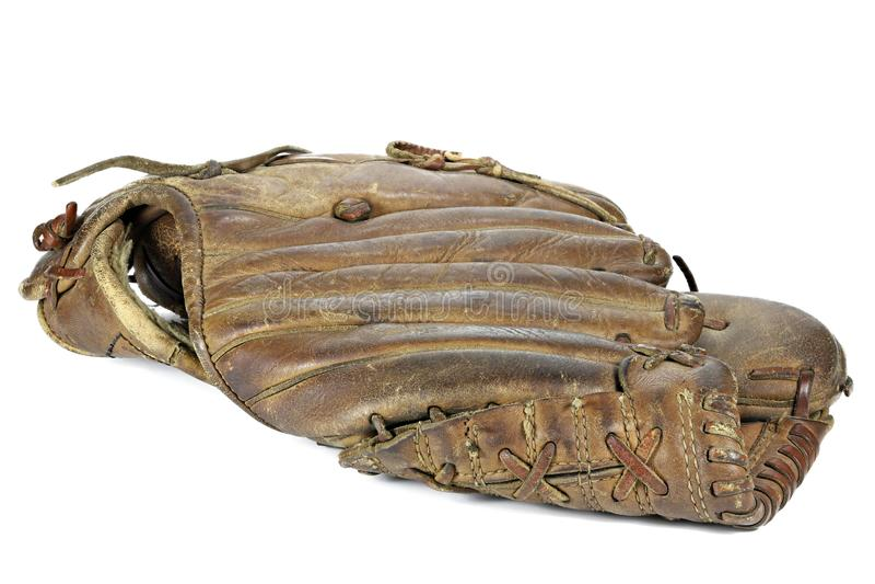 Luva de beisebol fotos de stock