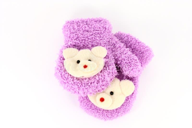 Download Luvas das crianças imagem de stock. Imagem de knit, outerwear - 12809985