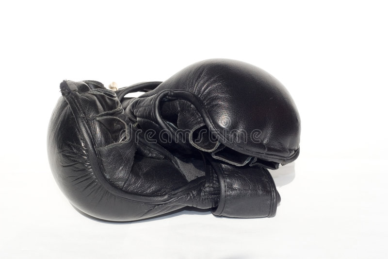 Luvas de MMA fotos de stock