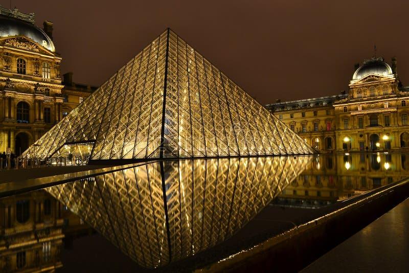 luwr Paryża fotografia stock