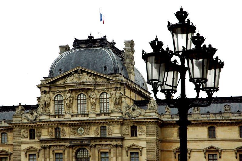 luwr wokół Paryża obrazy royalty free