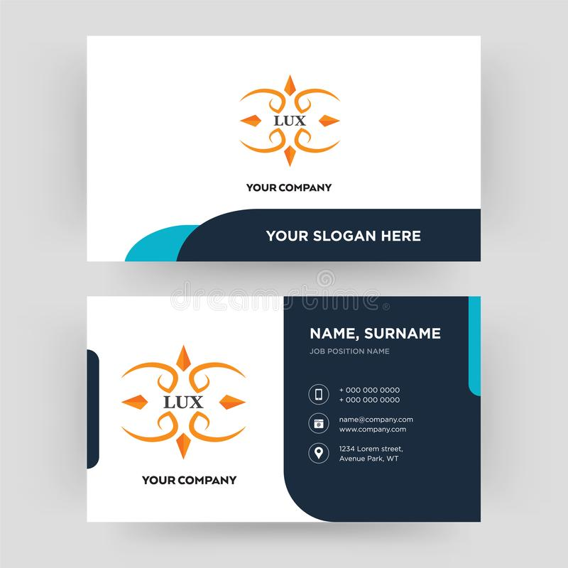 Lux business card design template visiting for your company stock download lux business card design template visiting for your company stock illustration illustration of colourmoves