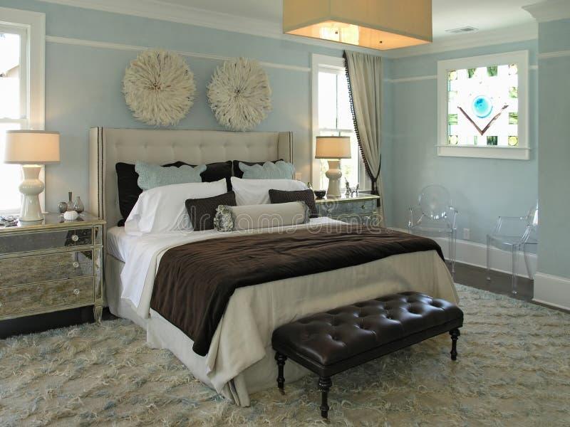 Luxe 4 - Chambre à coucher 3 photos libres de droits