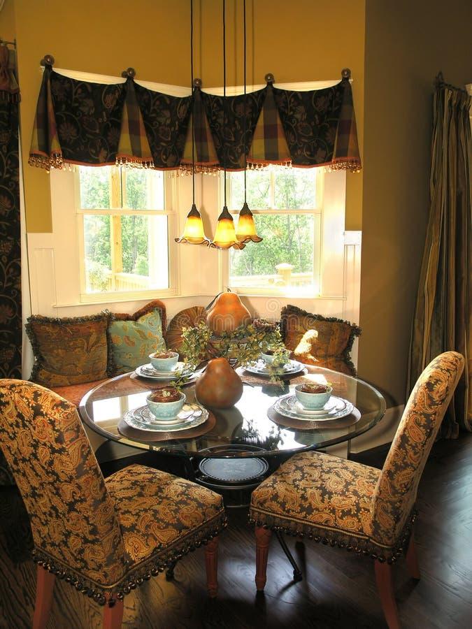 Luxe 6 - Dinerende 2 stock afbeeldingen