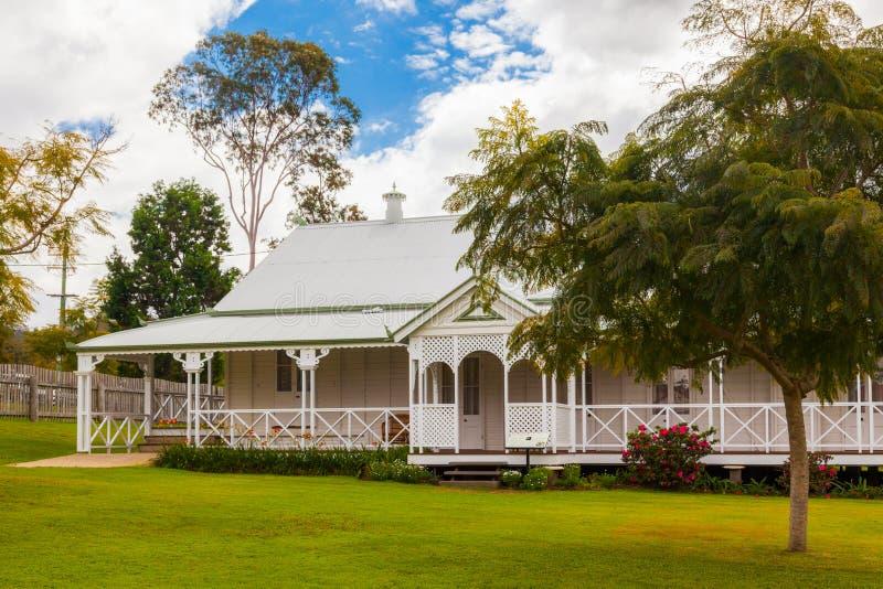 Luxe Australisch huis royalty-vrije stock afbeeldingen