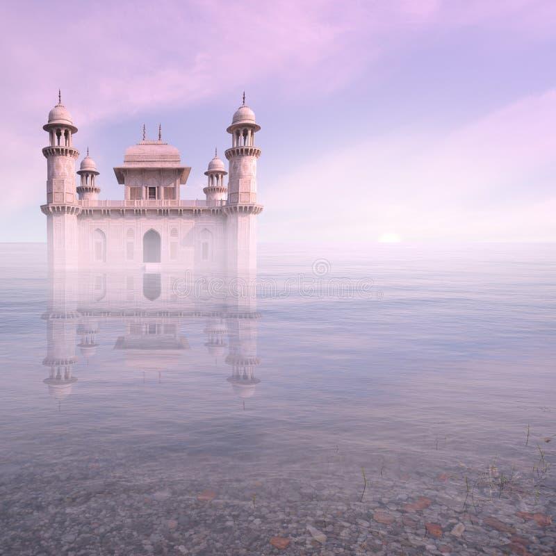 Luxe in de mist royalty-vrije stock afbeeldingen