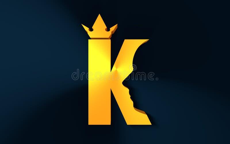 Luxe royal de roi illustration de vecteur