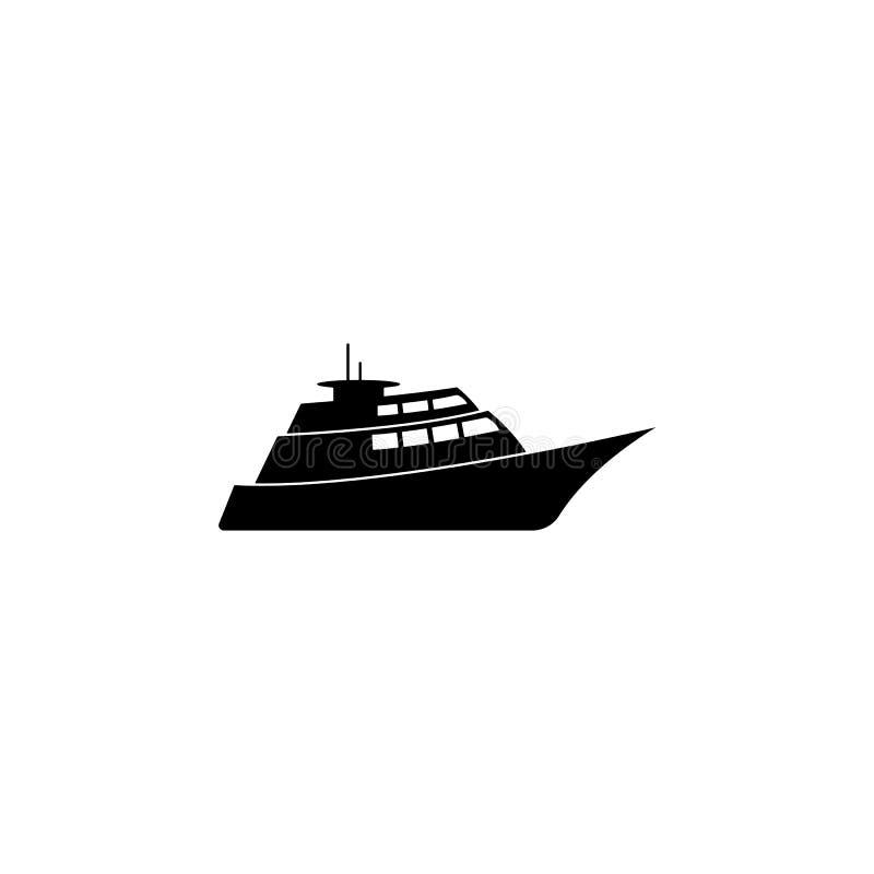 luxe, schippictogram Element van het pictogram van het watervervoer voor mobiele concept en webtoepassingen De gedetailleerde lux vector illustratie