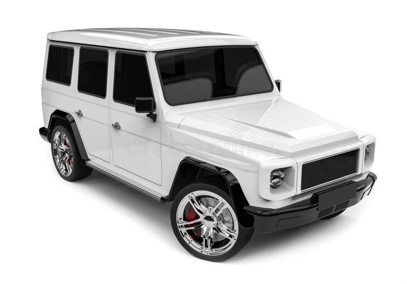 Luxe SUV illustration de vecteur