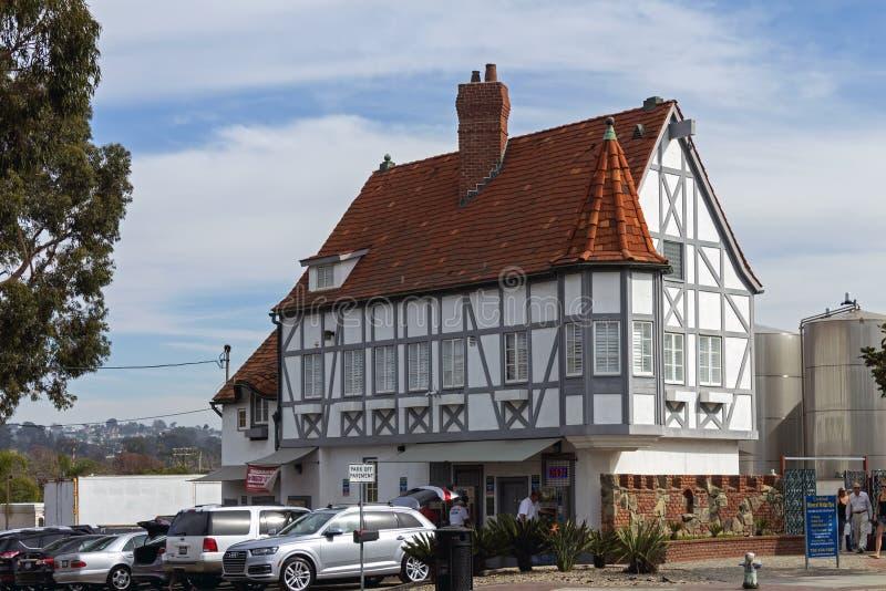 Luxehuis in Carlsbad stock afbeeldingen