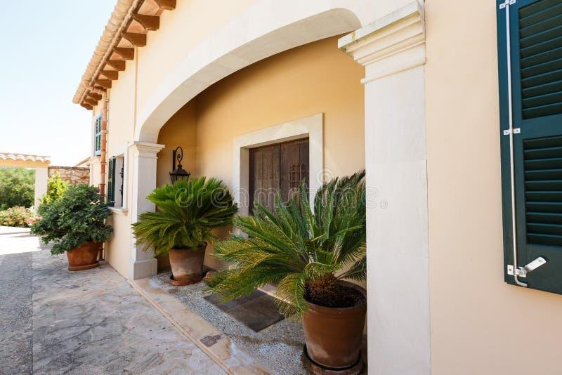 Luxehuis in Mallorca stock foto's