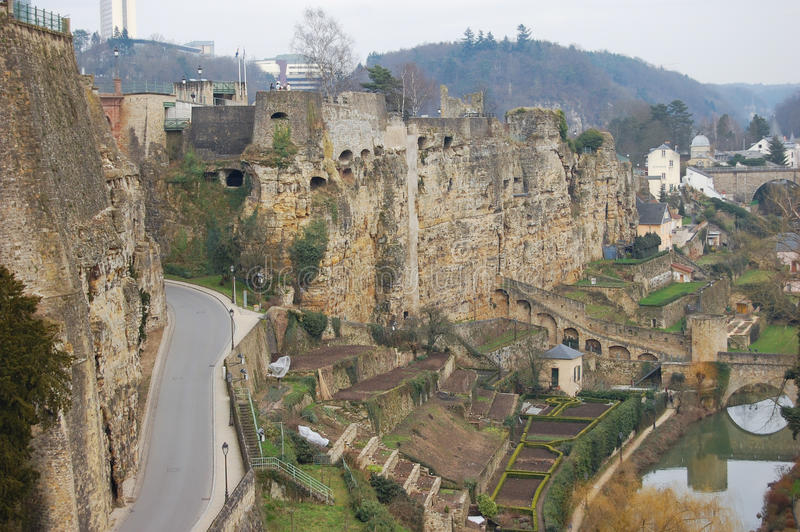 Download Luxembourg stock photo. Image of city, monuments, ruin - 18768428