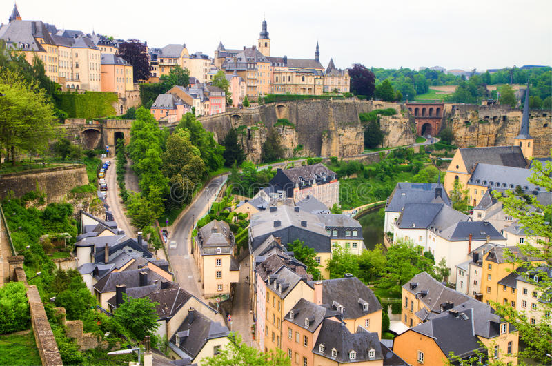 Luxembourg foto de stock royalty free