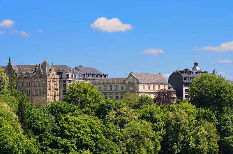 Download Luxembourg city stock image. Image of central, summer - 14987967
