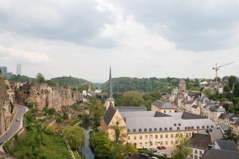 Luxembourg City. panorama