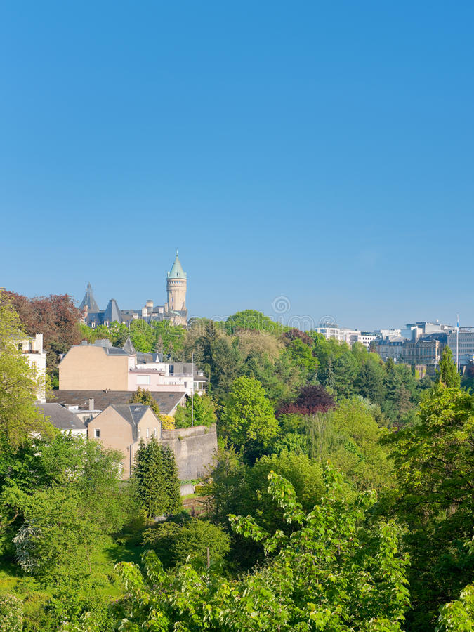 Download Luxembourg In Early Morning Stock Photo - Image: 28283990