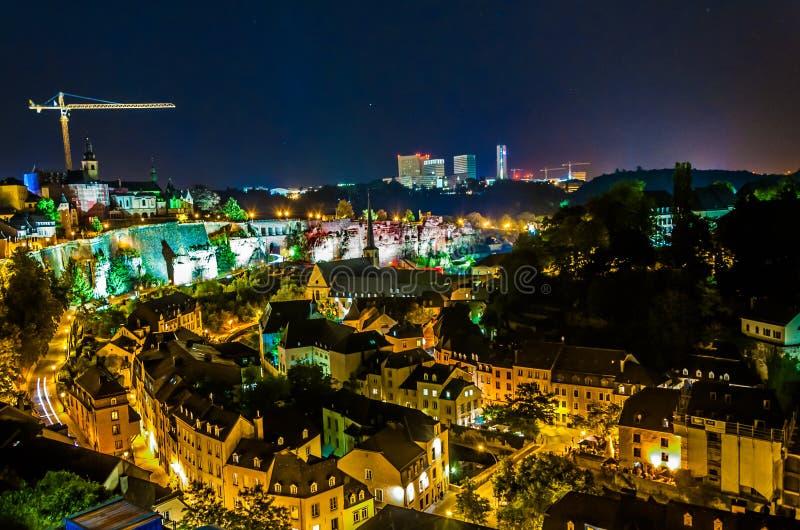Luxembourg - gammal stad fotografering för bildbyråer