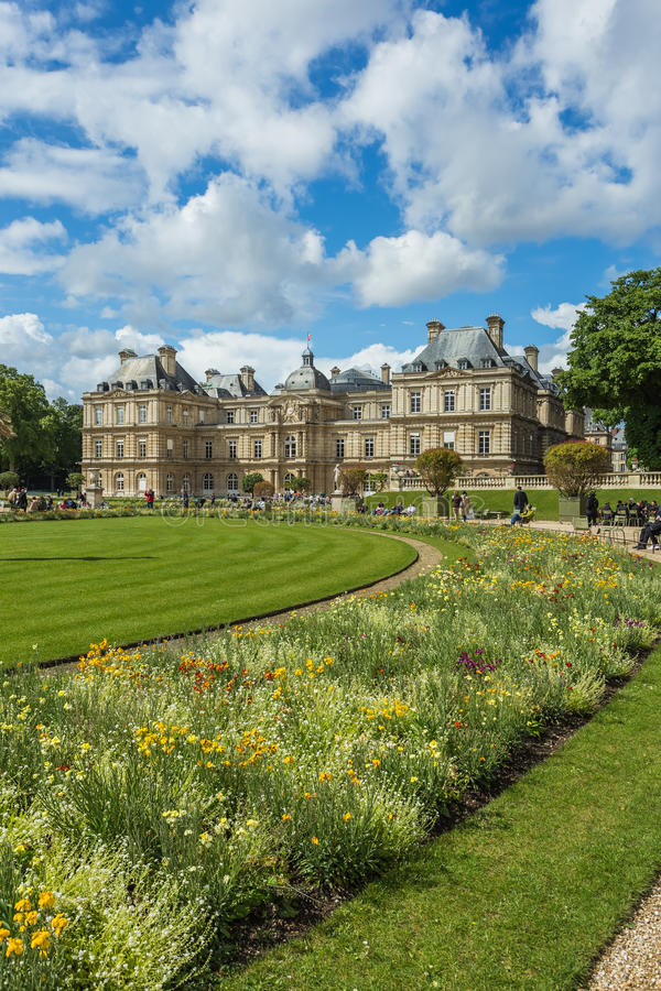 Luxembourg Garden(Jardin du Luxembourg) in Paris, France. Luxembourg Garden(Jardin du Luxembourg) in Paris France stock photography