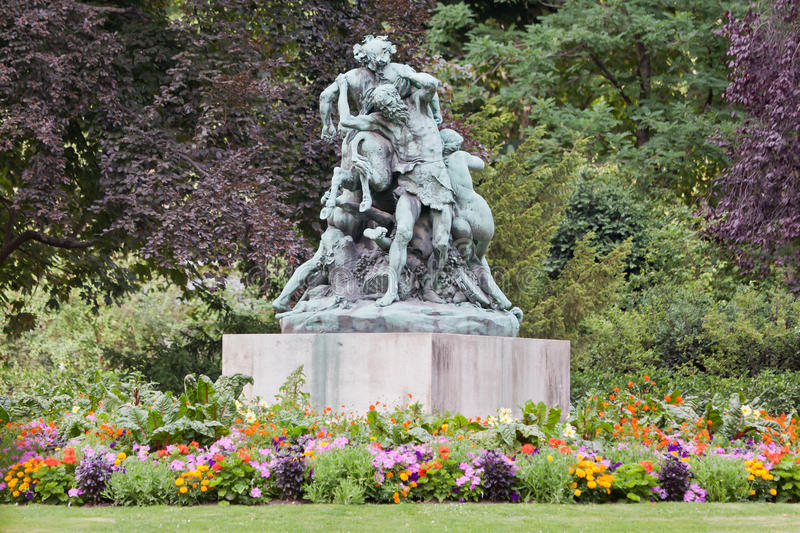 Download Luxembourg Gardens stock image. Image of colours, france - 24358981