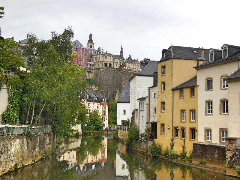 Luxembourg Old Town royalty free stock photography