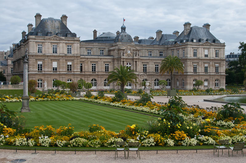 Download Luxembourg Palace stock photo. Image of jardin, luxembourg - 26855332