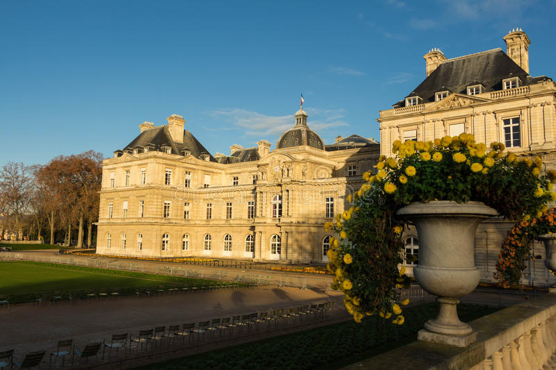 The Luxembourg palace(French Senate);. The Luxembourg palace(French Senate), Paris, France royalty free stock photo