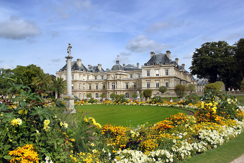 Download Luxembourg Palace In Paris, France Stock Photo - Image: 26987614