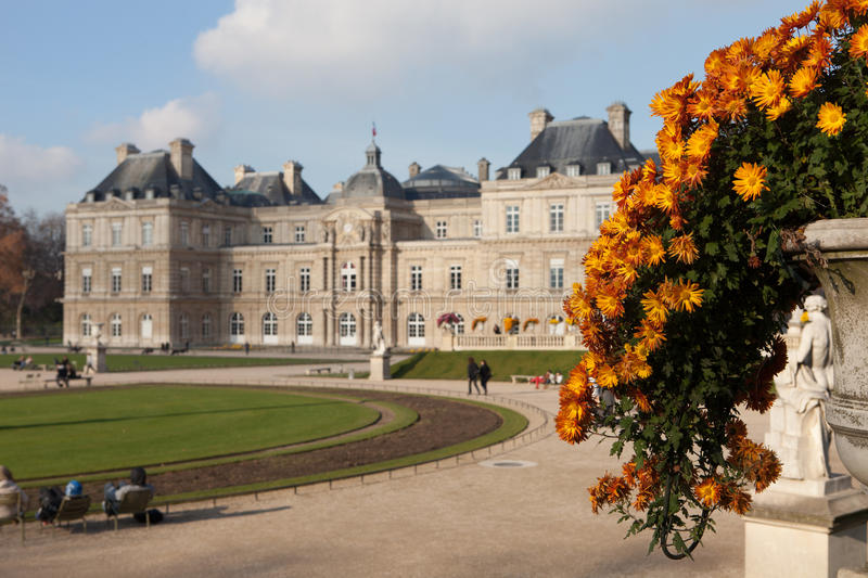 Download Luxembourg Palace stock image. Image of france, destinations - 31312373